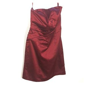 The Limited Wine Colored Formal Dress